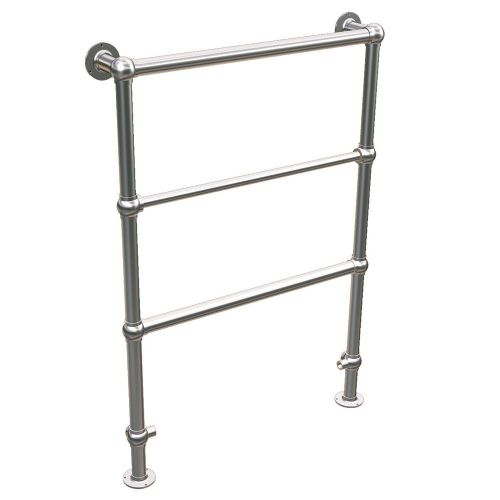 Abacus Elegance Shilling Traditional Towel Rail - 950mm x 600mm - Chrome